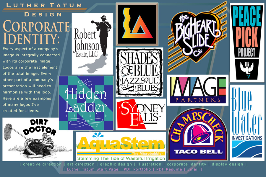 Luther Tatum Corporate Identity